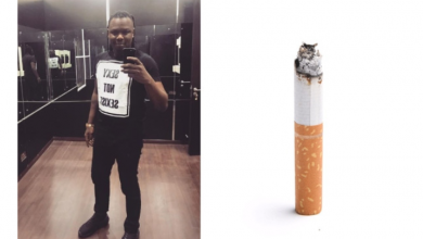 Photo of How Don Jazzy influenced Dr. Sid's smoking habit