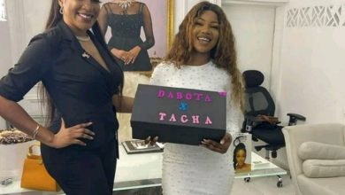 Photo of What Dabota Lawson gave to Tacha to use for her body odour