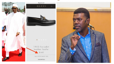 Photo of Border Closure: 'Wear Kano made, not $640 Gucci shoes' – Reno Omokri slams President Buhari