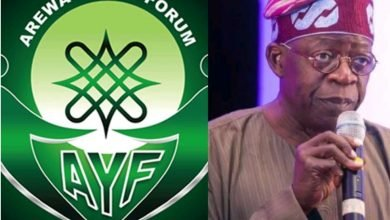 Photo of Tinubu won't be probed over bullion van by EFCC, he is in APC – Arewa Youths