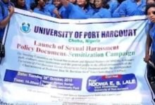 Photo of #SexForGrades: UNIPORT unveils ground rules and policy document to fight sexual harassment