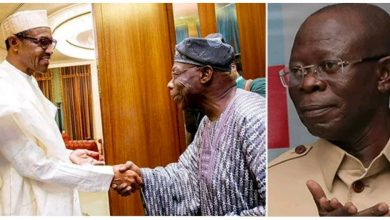 Photo of Obasanjo travelled more than President Buhari – Oshiomhole