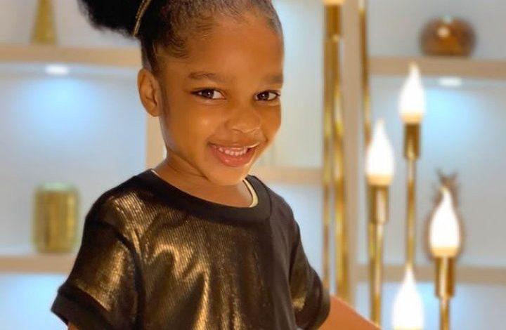 Dabota Lawson's daughter, Reignah