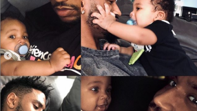 Photo of Trey Songz shows off his 6 months old son, says he changed his life