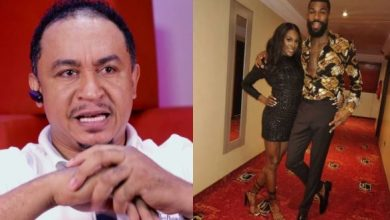 Photo of Daddy Freeze reacts as Mike says he can't go to an event without his wife