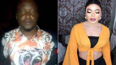 Photo of Bobrisky threaten to ensure man who beat him spends 2 days in cell