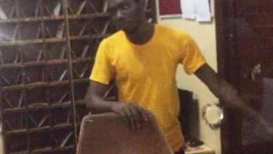 Photo of Photos of young man who tried to rape female student in the University of Ghana