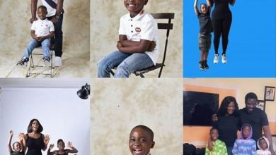 Photo of Mercy Johnson celebrates son Henry as he marks his 5th birthday