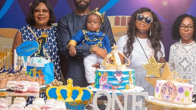 Photo of Photos from ex-president Goodluck Jonathan's grandson's birthday party
