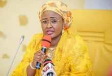 Photo of Aisha Buhari attacked by Buhari's kinsmen