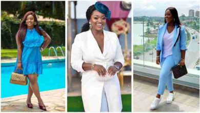 Photo of Baby bump video of heavily pregnant Jackie Appiah pops up