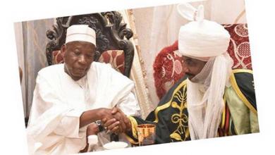 Photo of Emir Sanusi sacks Palace Chief for welcoming Ganduje