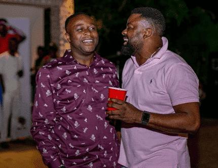 Femi Adebayo and Kunle Afolayan