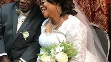 Photo of 70-Year-Old Former Osun Deputy Governor Remarries Michael Ponle Secretly (Photos)