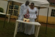 Photo of Drama as wife storms secret wedding of Pastor-husband to another woman in Lagos