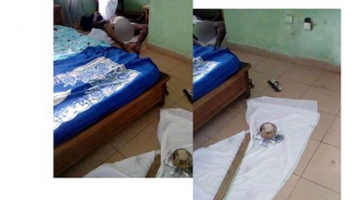 Photo of Thunder kills man carrying a calabash of money inside hotel room