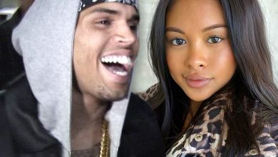 Photo of Chris Brown is a dad again