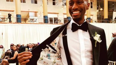 Photo of American adopts Nigerian wife's surname, Ekundayo and here is why