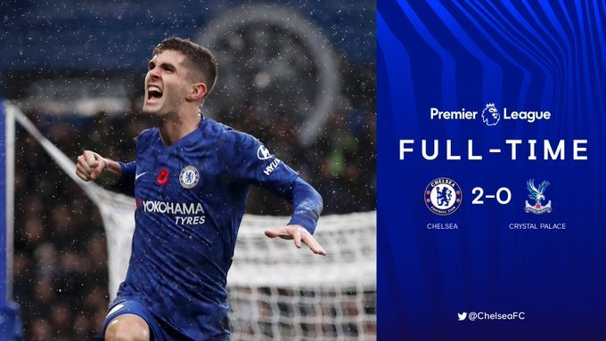 Chelsea vs Crystal Palace 2-0 highlights video download