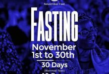 Photo of 30 Days RCCG November 2019 Fasting Prayer Points (Day 10)