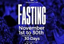 Photo of 30 Days RCCG November 2019 Fasting Prayer Points (Day 12)