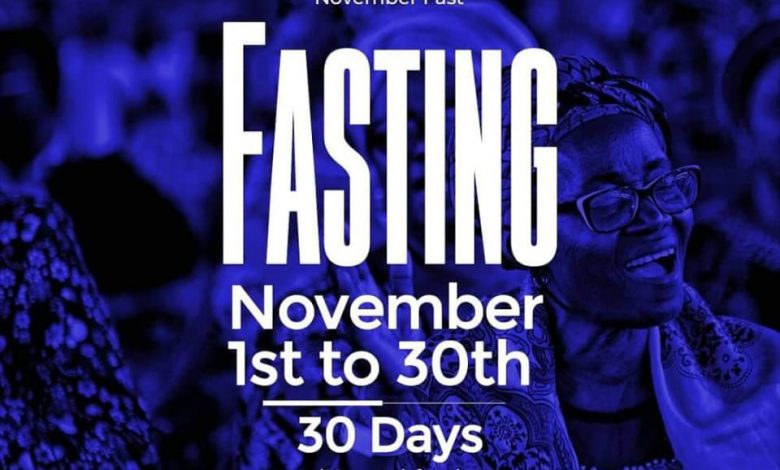 Day 8: RCCG November 2019 Fasting Prayer Points – Friday, 8th