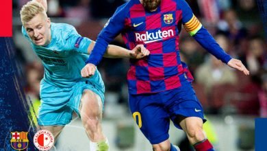 Photo of HIGHLIGHTS: Barcelona vs Slavia Prague 0-0