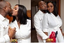 Photo of Davido kisses fiancee, Chioma, in new loved-up photos
