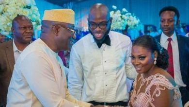Photo of Ekiti stands still as Fayose hosts Kayode Fayemi at Son's wedding (photos)