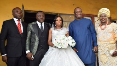 Photo of What Festus Keyamo said at his daughter's wedding over the weekend