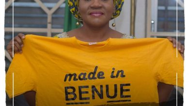 Photo of Made in Benue team pays courtesy visit to wife of state Governor