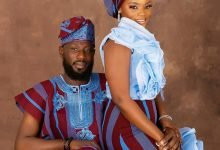 Photo of Far from the norms, this Aso-Oke pre wedding album would inspire you