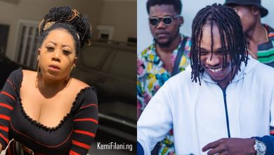 Photo of Moyo Lawal reacts to Naira Marley's 'big butt, masters degree' tweet