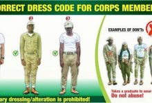 Photo of NYSC dress code remains a pair of khaki trousers and shirt – NYSC DG