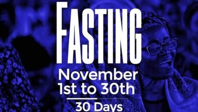 Photo of 30 Days RCCG November 2019 Fasting Prayer Points (Day 30)