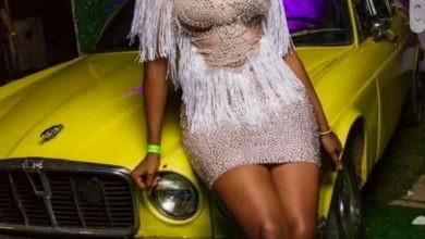Photo of Cindy reacts as clothing store drags her for a dress she's yet to pay for
