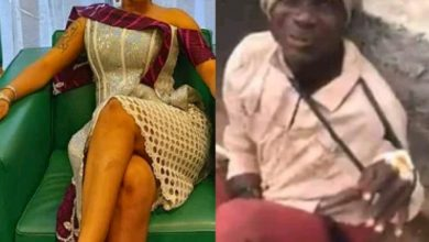 Photo of Tonto Dikeh condemns those filmed beating a fake beggar; blames the government for his condition