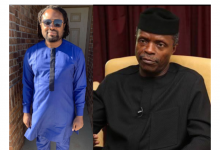 Photo of Cobhams Asuquo offers powerful prayers for VP Yemi Osinbajo