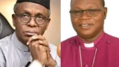 Photo of El-Rufai will never be president of Nigeria – Bishop of Zaria