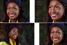 Photo of Lady becomes first class graduate after failing first attempt at JAMB