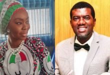 Photo of Toyin Saraki fires back at Reno Omokri for using Queen Elizabeth to mock her