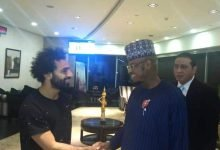 Photo of Mo Salah welcomes Nigeria's minister of communications at Cairo airport (Photos)
