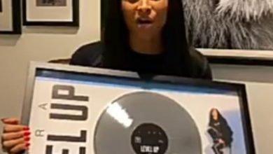 Photo of Ciara celebrates as her song reaches platinum status