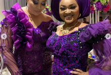Photo of Mercy Aigbe, Adunni Ade steal the show at young couple's wedding reception (photos, videos)