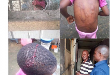 Photo of Policeman arrested for brutalizing his daughter