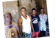 Photo of Four arrested for gang-raping, blackmailing a girl