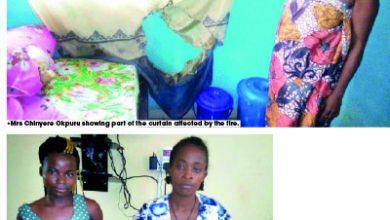 Photo of Husband sets his house ablaze to kill triplets in Ebonyi