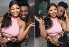 Photo of Sir Dee cuddles with Tacha despite rumours of body odour