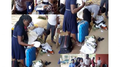 Photo of Corp members sent packing from NYSC camp for rejecting trousers