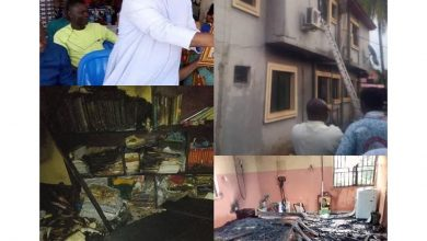 Photo of Early morning fire kills St. Peter's Catholic Church Priest in Anambra State